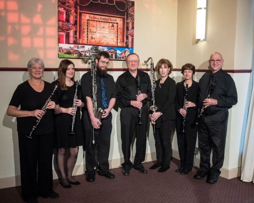 clarinet ensemble 2018